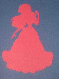 Disney Princess Ariel Silhouettes for by ThePaperdollPrincess, $5.00