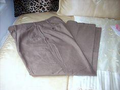 DANIEL CREMIEUX BROWN DARK KHAKI PARIS PLEATED SLACKS 36X30 NICE PANTS #DanielCremieux #Khakis