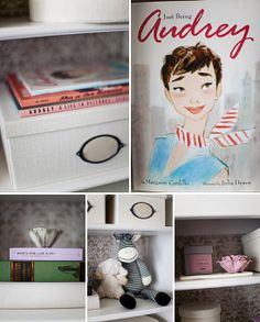 Ummm... I think if I have a little girl one day, she may have an Audrey Hepburn inspired room after seeing this