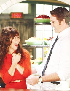 Pushing Daisies.  I love the happiness in this photo of Anna Friel and Lee Pace!
