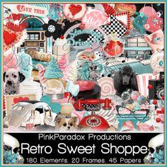 Retro Sweet Shoppe