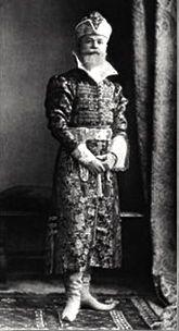 Baron Nicholas Nikolaevich Hartong at the Winter Palace Costume Ball in 1903.