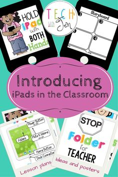 Got iPads? I've done all the legwork of what you need to introduce iPads to students. Complete with posters of rules, introductory lessons, and links to teach digital citizenship. $
