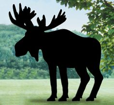 Moose Shadow Woodcrafting Pattern Everyone will do a double take when you…
