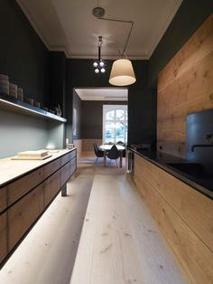 Dinesen showroom by Oeo - My next kitchen should look like this....