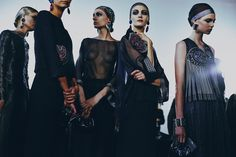 BEHIND THE SCENES: ARMANI PRIVÉ Leave it to Mr. Armani to bring back the high drama of couture   Photography Harry Carr