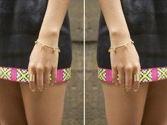 DIY: delicate bell bracelets