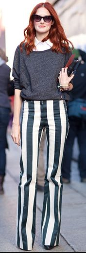 Líneas verticales = Figura más larga. #Stripes #Fashion Tip #Accessories