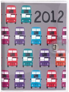 Paperchase's London series leading up to 2012 Olympics https://www.paperchase.co.uk/ #print #stationery #souvenirs #design #london_bus