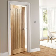 Deanta Ely Oak Door Hour Fire Rated Prefinished - September 03 2019 at Brown Interior Doors, Solid Core Interior Doors, Interior Door Styles, Interior Doors For Sale, Wooden Interior Doors, Interior Design, Oak Fire Doors, Barn Style Doors, White Doors