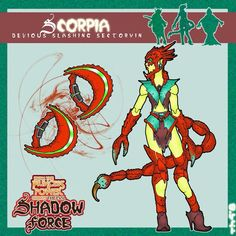 My idea for scorpia and all the insect people is that they will be elf like beings who wear insect like armor as apposed to being insects themselves. my Scorpia concept She Ra Princess Of Power, Great Power, Concept, Deviantart, Comics, Pop, Popular, Pop Music, Comic Book