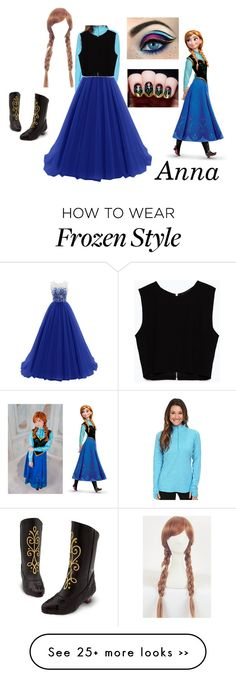 """""""Anna"""" by amy-cliff on Polyvore featuring NIKE, Zara and Disney"""