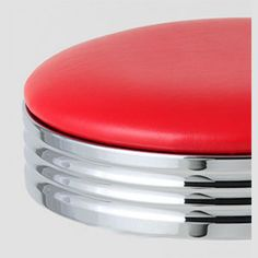 Classic 50s Diner Bar Stools $74 95 ea Red Retro Style New