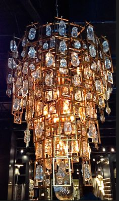 Chandelier… at Holland & Sherry via Hadley-Court Blog