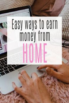 Simple, effective and lucrative ways to make money frorn home. You totally can work form home and make good money   #makemoney #earnmomney #moneymaking #workfromhome Ways To Earn Money, Earn Money From Home, Way To Make Money, Make Money Online, Life On A Budget, Family Budget, Saving Ideas, Money Saving Tips, Award Winning Websites