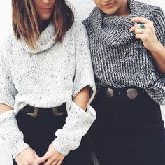 thelfstores:  sweater duo  #lfstyle #lfstores via Instagram http://ift.tt/1NAnDJm