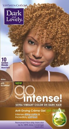 Dark and Lovely Go Intense - -10 Hair Color - Golden Blonde Kit (Pack of 6) -- Be sure to check out this awesome product.