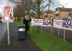 Residents are fighting back in a bid to stop speeding drivers using a main road in their village as a rat-run.