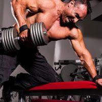 Musculation du dos : Le rowing haltère à 1 bras