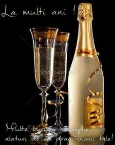 of champagne with bottle Picture Glasses of champagne with bottle Picture Free Birthday Card, Happy Birthday Wishes Cards, Happy Birthday Pictures, Happy Birthday Quotes, Happy Birthday My Friend, Birthday Message For Friend, Champagne Images, Happy New Year Animation, Gifts