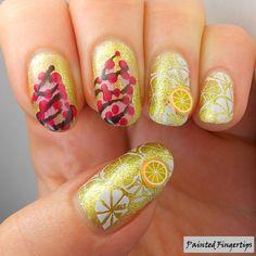 Lemon & Cherry | Painted Fingertips