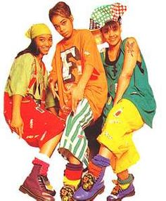 TLC. Known for the bright colors, baggy clothes and Lisa Left-Eye ...