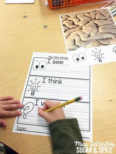 Integrate writing with science and social studies with this great morning work idea called See, Think, Wonder, Write!