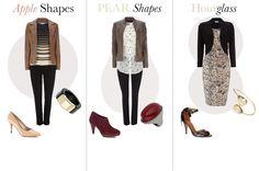 Curvy & Pear Body Shapes - I'm a pear Pear Shape Fashion, Curvy Fashion, Fashion Advice, Fashion Outfits, Triangle Body Shape, Pear Shaped Women, Dresses For Apple Shape, Apple Body Shapes, Pear Body