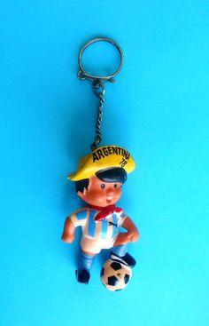 FIFA FOOTBALL WORLD CUP ARGENTINA '78. old large gum keychain MASCOT GAUCHITO | Sports Mem, Cards & Fan Shop, Vintage Sports Memorabilia, Key Chains | eBay!