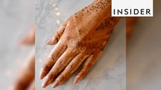 This 21-year-old henna artist is blowing up on Instagram. Solange can do simpler designs in 10 minutes, but full wedding pieces can take up to 6 hours. The I...
