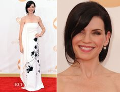 Julianna Margulies In Reed Krakoff - 2013 Emmy Awards She is one of those people who always looks great. This is a bold dress!