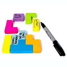 TETRIS!!!! Block Sticky Notes 2 Pack