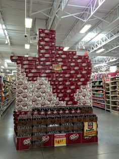 Dr Pepper display @ HEB