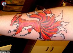 This is an awesome tattoo. I love the use of color
