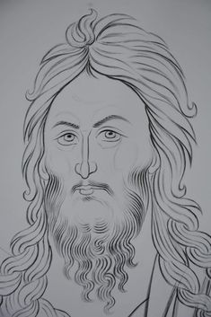 Byzantine Icons, Byzantine Art, Religious Images, Religious Icons, Jesus Drawings, Hyperrealism, Orthodox Icons, Drawing Techniques, Christian