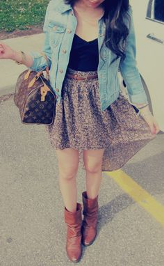 Love this OOTD from #beautycakez; love her clothing style.