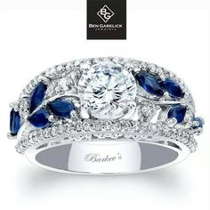 Blue is my favorite color! Not for my engagement, but I would definitely want this as a right hand ring!!