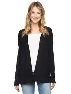 Longline Hooded Cardigan | clothes | Pinterest | Hooded cardigan ...