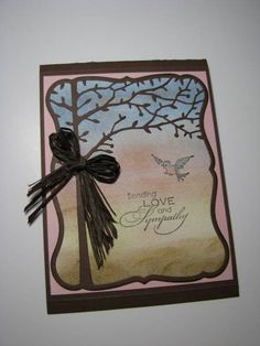Sympathy Tree by Jakester - Cards and Paper Crafts at Splitcoaststampers