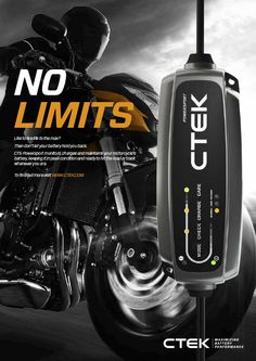 No limits! Our new CT5 power sport charger