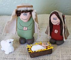 Love cute nativity!!