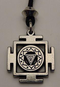KALI YANTRA Goddess Transformation Pendant Necklace CREATION Amulet Kali Jewelry Pendant