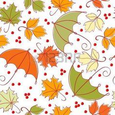 hojas de otoño dibujo: Fondo transparente de otoño Vectores