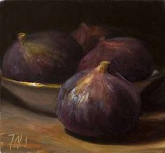 Postcards from Provance -  Daily painting Daily painting titled  Still Life with Figs