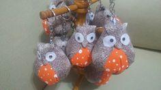 Chaveiros de coruja