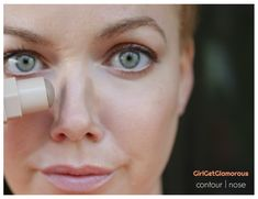 Makeup Contouring And Highlighting: What You Need To Know Makeup Tips For Redheads, Redhead Makeup, Contour Brush, Contour Makeup, Eyeliner Makeup, Makeup Art, Skin Tips, Skin Care Tips, How To Contour Your Face