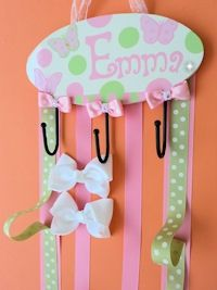 personalized clip holder