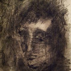 Youth  Anne Marie Tangen. charcoal on papir