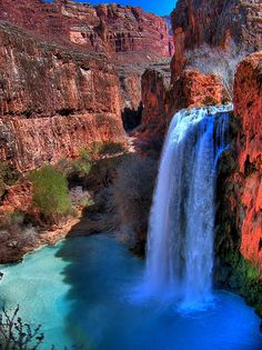 Waterfalls Near Grand Canyon | Recent Photos The Commons Getty Collection Galleries World Map App ...
