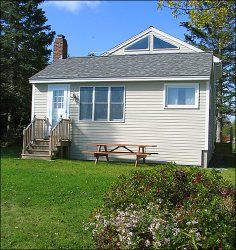 Crescent Beach Cottage is available for September and October vacations. Enjoy peace and quiet during the most serene months on the coast of Maine.